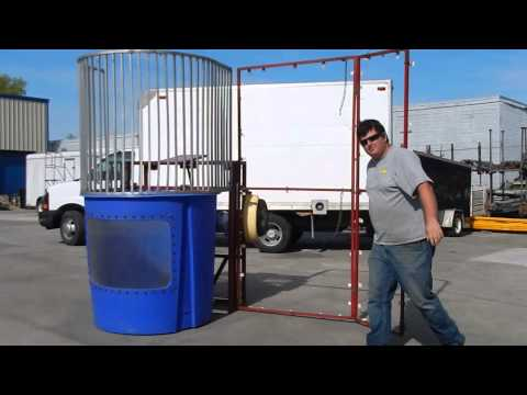 how to build a dunk tank or booth