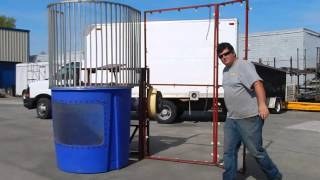 Dunk Tank Setup Guide | How to install a dunking booth (round towable)