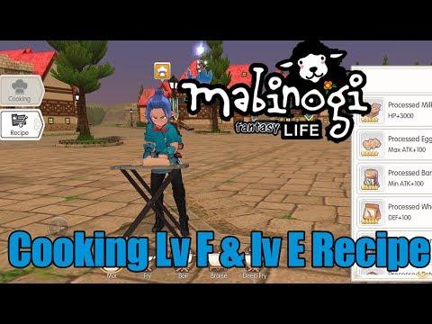 Resep Masakan Mabinogi Level F Mabinogi Indonesia Youtube