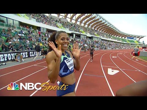 Mujinga Kambundji upsets Felix, Thomas in 200m at Prefontaine Classic | NBC Sports