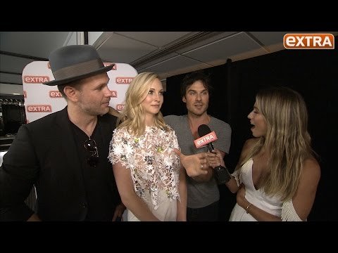 Ian Somerhalder on That Time He Was Strangled and Kissed By Wonder Woman at ComicCon