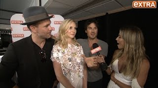 Ian Somerhalder on That Time He Was Strangled and Kissed By Wonder Woman at Comic-Con
