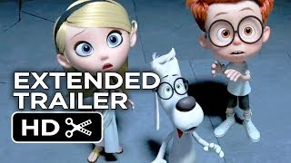 Mr. Peabody & Sherman Official Extended Trailer #2 (2014) - Animated Movie HD