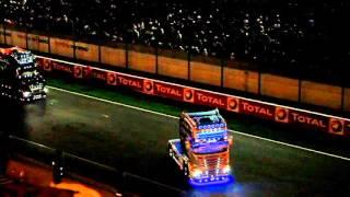 Defile des 24H du Mans Camions 2015 (extraits de nuits)