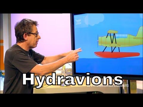 Comment l'hydravion décolle-t-il ? - C'est Pas Sorcier