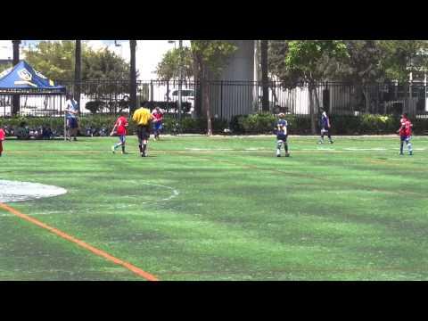 LA Galaxy Pre Academy  vs LA Galaxy Conejo Valley 1st Half