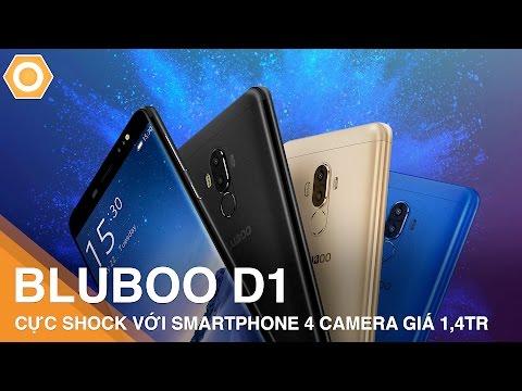 Bluboo D1 - Cực shock với 4 camera giá chỉ 1,4tr
