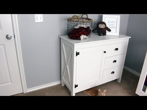 Making a Dresser/Changing Table Combo For Our Nursery   VQC