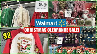 WALMART 50% OFF CHRISTMAS DECOR, CLOTHING, ORNAMENTS AFTER CHRISTMAS CLEARANCE SHOP WITH ME