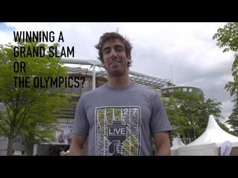 German Open 2016 - Rothenbaum-TV - Quickfire Quiz mit Pablo Cuevas