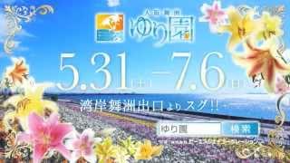 大阪に新たなる名所が誕生。大阪湾を臨む最高のロケーションに満開のゆ...