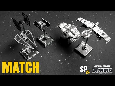 Match: Vader/Quickdraw/Duchess vs Nym/Miranda - X-Wing Miniatures - SPG