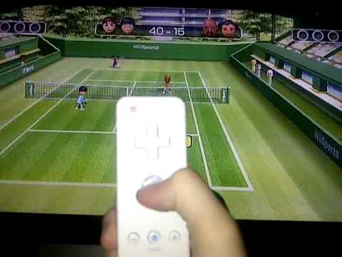 how to do a fast ball everytime on wii sports tennis youtube rh youtube com Wii Sports Baseball wii sports resort table tennis guide