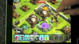 Clash of clans breakfast with max balloons and lvl 6 toast!