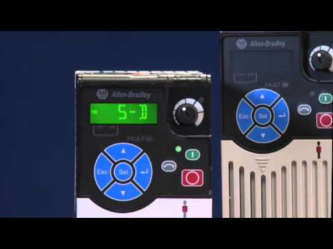 Ac Control Wiring Allen Bradley 174 Powerflex 525 Ac Drive Youtube