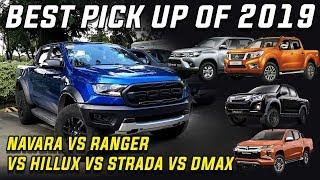 Best Pick up of 2019: Ranger Raptor vs wildtrak vs Hilux conquest vs Navara VL vs Strada GT