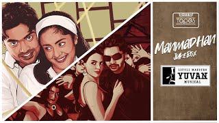 Manmadhan Songs - Audio Jukebox | Silambarasan, Jyotika | Yuvan Shankar Raja #ThinkTapes