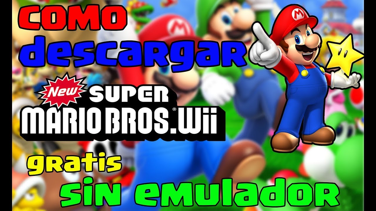 Como Descargar New Super Mario Bros Wii Para Pc Sin Emulador Gratis By Moizetax