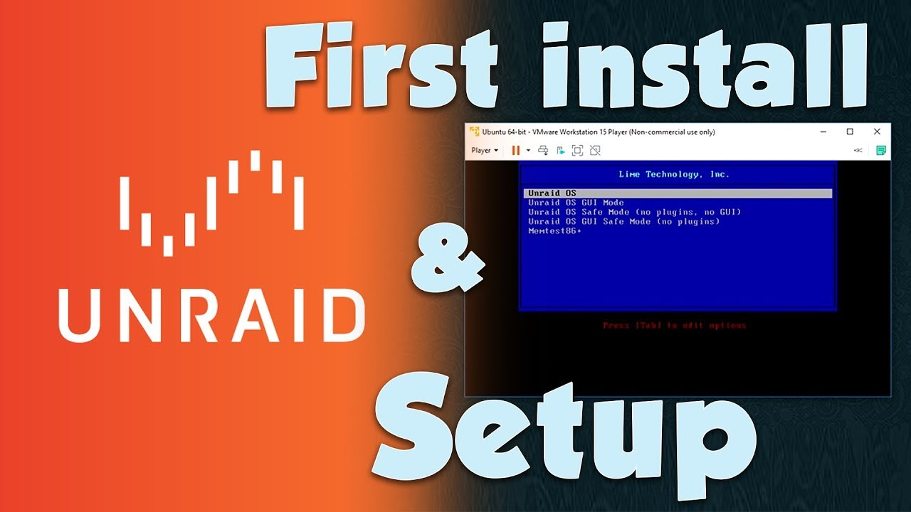 UnRaid: INSTALL AND SETUP - HowTo Guide 2019