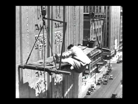Harold Lloyd in Feet First (1930) - The...