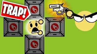 TRAPPING PLAYERS WITH AIRDROPS! // Surviv.io