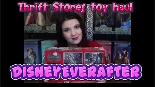 Thrift store TOY HAUL #13 - Disney, Ever After High horses, Moxie Girlz Snow White and more