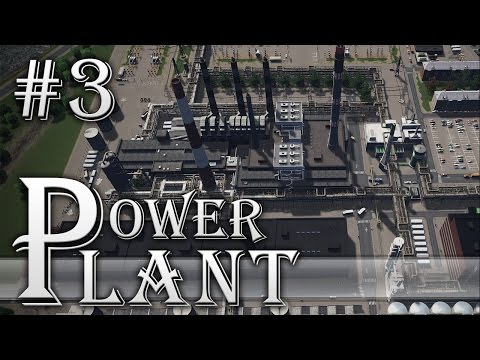 "Cities Skylines: Project: ""Vilnius"" - Ep. 3 - THERMAL POWER PLANT"