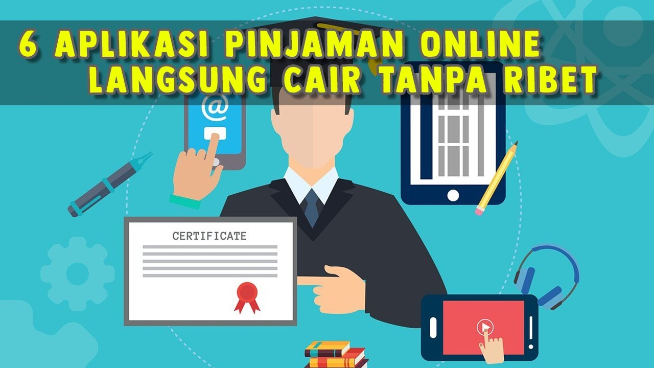 6 Aplikasi Pinjaman Online Langsung Cair Bunga Rendah ...