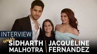 Sidharth Malhotra & Jacqueline Fernandez Interview with Anupama Chopra I A Gentleman
