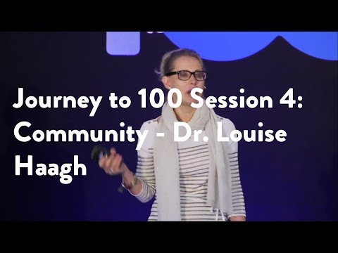 Journey to 100 Session 4: Community - Dr. Louise Haagh [Functional Forum]