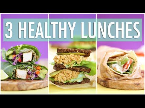 3 HEALTHY LUNCH IDEAS | School Lunch Ideas
