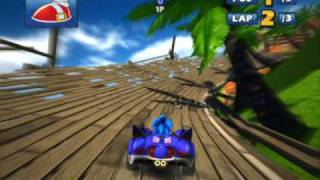 Gameplay Sonic & Sega All-Star Racing - PC 9800GT - By DarkWatch