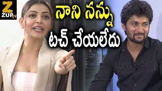 Kajal Agarwal Warning to Hero Nani @ Awe Movie Team Hilarious Interview ||| Zup TV