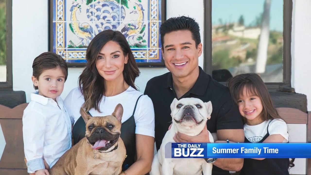 Courtney And Mario Lopez Celebrate Family