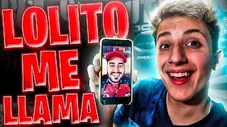 LOLITOFDEZ ME ENVIA UN VIDEO en DIRECTO de FORTNITE: BATTLE ROYALE!! **NO CLICKBAIT**