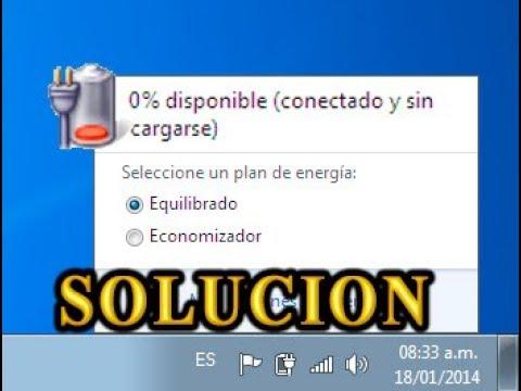 conectado y sin cargarse solucion windows 7,8,10