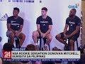 NBA Rookie sensation Donovan Mitchell, bumisita sa Pilipinas