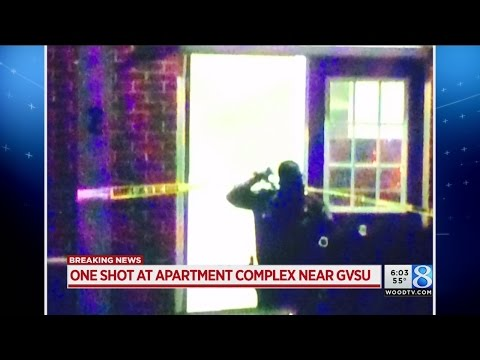 Deputies: Man in serious condition after shooting near GVSU campus