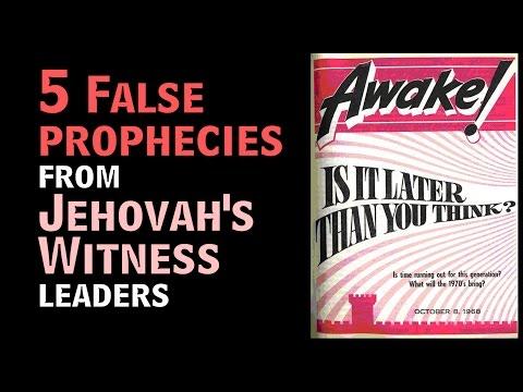JW False Prophecies DOCUMENTED