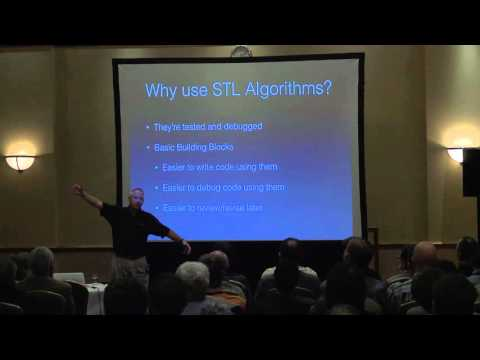 'STL Algorithms – How to Use Them and How to Write Your Own' - Marshall Clow [ ACCU 2016 ]
