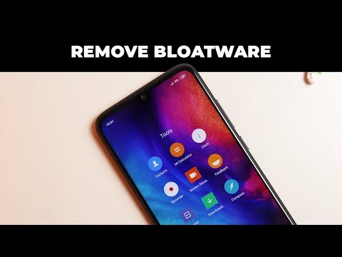 Remove Bloatware From Any Xiaomi Device Running On MIUI [No Root/Locked Bootloader]