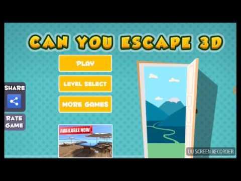 Vídeos de Juegos Android-Juego Can You Escape 3d-Parte 1