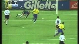 Brasil 2 Alemania 0 Mundial Corea Japon 2002 Los goles (Relato Miguel Simon)