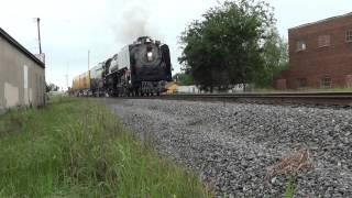 Union Pacific UP 844 Troubles in Mt Pleasant Texas
