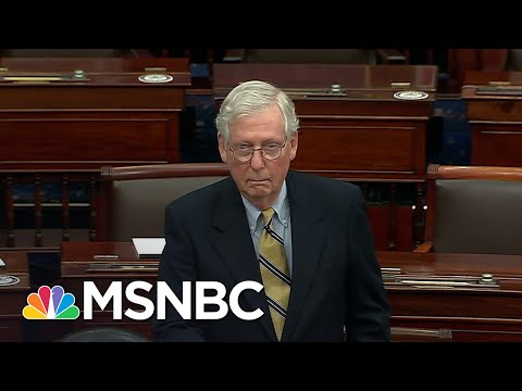 Some Republicans Who Shirked Impeachment Responsibility Pass Buck To Law Enforcement | Rachel Maddow