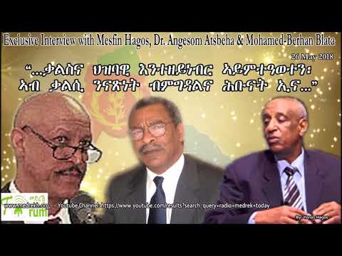 Interview With Mesfin Hagos, Dr Angesom Atsbeha And M  Berhan Blata