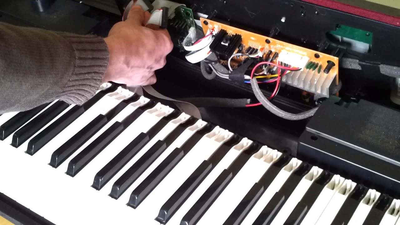 88 Key Piano Keyboard Diagram 1979 Honda Ct70 Wiring Fixing The Keys On A Digital Where Some Or All