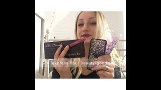 ♡ALIEXPRESS HAUL : Beauté, bijoux, maquillage, coques de téléphones...♡