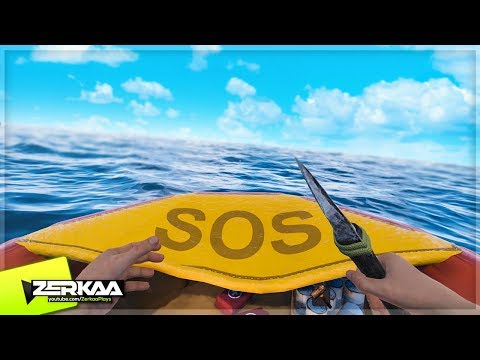 NEW SURVIVAL GAME! STRANDED DEEP + RAFT (Bermuda: Lost Survival)