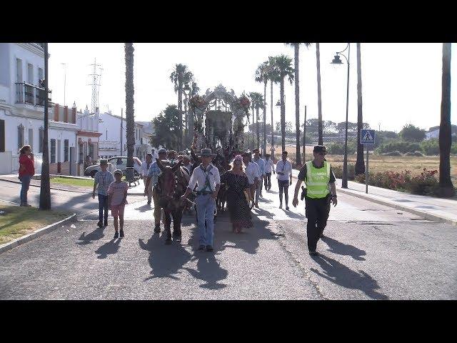Rocío 2019 | Paso de las Hermandades del Rocío de Isla Cristina y Ayamonte por Cartaya
